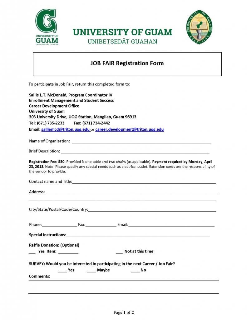 UOG 2018 Job Fair Employer Registration 2018.04.18_Page_1