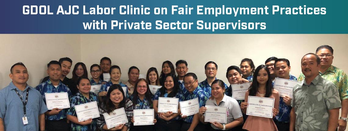 AJC Labor Clinic Participants