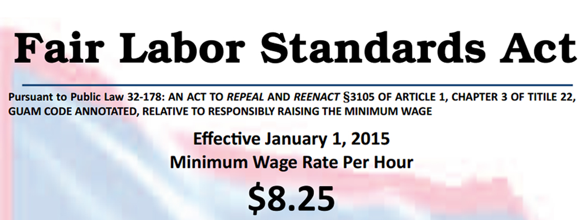 Fair Labor Standards Act $8.25