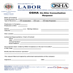 OSHA On-Site Consultation Request Form